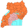 Ugandacentralnumbered - Mapsof.Net Map