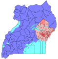 Ugandaeasternnumbered - Mapsof.Net Map