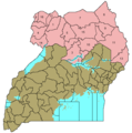 Ugandanorthernnumbered - Mapsof.Net Map