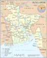 Un Bangladesh - Mapsof.Net Map