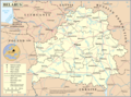 Un Belarus - Mapsof.Net Map