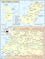 Un Equatorial Guinea - Mapsof.Net Map