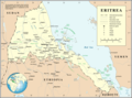 Un Eritrea - Mapsof.Net Map