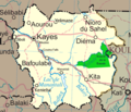 Un Mali Kayes Region - Mapsof.Net Map