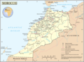 Un Morocco - Mapsof.Net Map