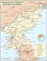 Un North Korea - Mapsof.Net Map