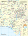 Un Pakistan - Mapsof.Net Map
