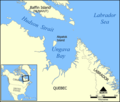 Ungava Bay Map - Mapsof.Net Map
