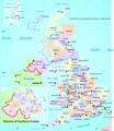 United Kingdom Counties - Mapsof.Net Map