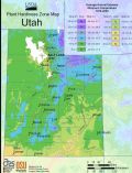 Utah Plant Hardiness Zone Map - Mapsof.Net Map