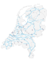 Vaarwegen - Mapsof.Net Map