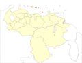 Venezuela Federal Dependences Location - Mapsof.net
