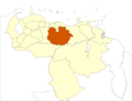 Venezuela Guarico State Location - Mapsof.net