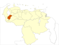 Venezuela Merida State Location - Mapsof.net