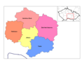 Vysocina Districts - Mapsof.net