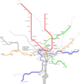 Washington Metro Map - Mapsof.Net Map