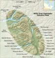 Wells Gray Clearwater Volcanic Field En - Mapsof.Net Map