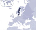 Where Is Sweden Located - Mapsof.Net Map