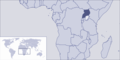 Where Is Uganda Located - Mapsof.Net Map
