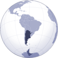 Where Is Argentina Located - Mapsof.Net Map