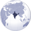 Where Is India Located - Mapsof.net