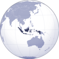 Where Is Indonesia Located - Mapsof.Net Map