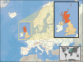Where Is Scotland Located - Mapsof.Net Map