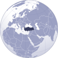 Where Is Turkey Located - Mapsof.Net Map
