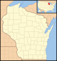 Wisconsin Locator Map With Us - Mapsof.Net Map