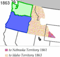 Wpdms Washington Territory 1863 Legend 3 - Mapsof.Net Map