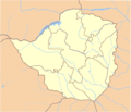 Zimbabwe Locator - Mapsof.Net Map
