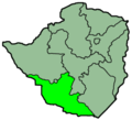 Zimbabwe Provinces Matabele South 250px - Mapsof.Net Map