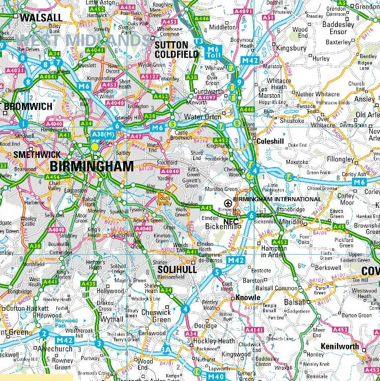 Birmingham City Map City Map of Birmingham • Mapsof.net Birmingham City Map